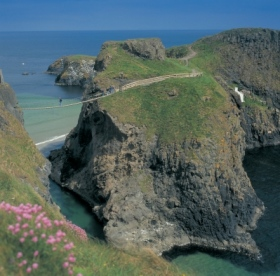 Carrick a Rede rope bridge