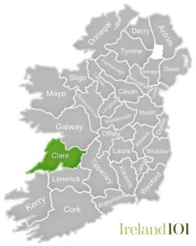 Counties Of Ireland Clare Ireland
