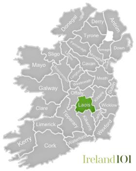 Map Of Ireland Galway County.Counties Of Ireland Laois Ireland