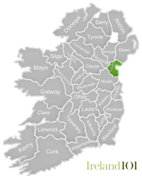 Map Of Ireland Louth.Counties Of Ireland Louth Ireland