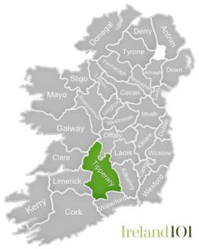 County Tipperary Ireland Map.Counties Of Ireland Tipperary Ireland