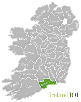 Counties of Ireland - Waterford   Ireland