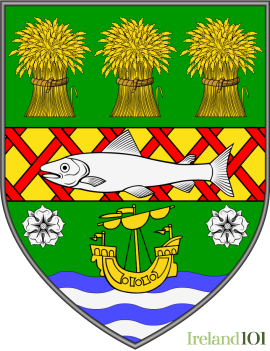 Coat of arms for county Down