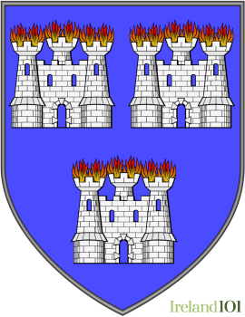Coat of arms for  Dublin City