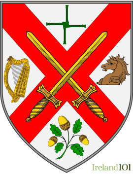 Coat of arms for Co. Kildare