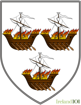 Old coat of arms for County Wexford