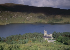 Glenveagh Castle is a 19th century castellated mansion in Glenveagh National Park, Co. Donegal