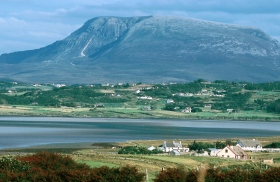 Donegal mountain scenery