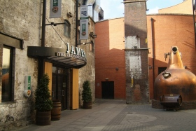 The Jameson distillery