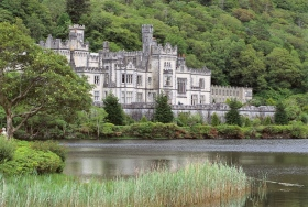Kylemore Abbey, located in Connemara, Co. Galway