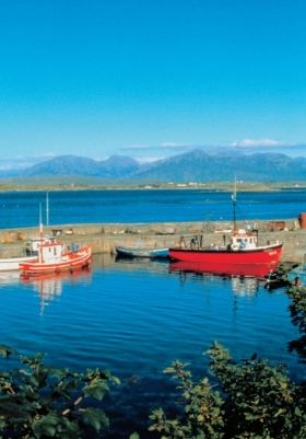 Roundstone Harbour Galway