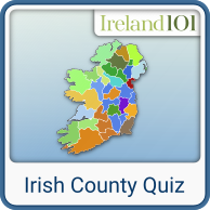 Map Of Ireland Quiz.Can You Locate The Top Irish Tourist Attractions Ireland 101