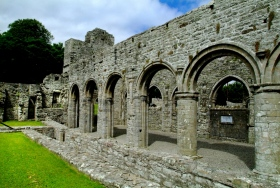 Arches in Boyle Abbey