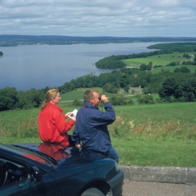 Overlooking Lough Derg, Tipperary