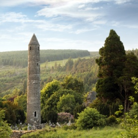 Round tower St. Kevin's Glendalough