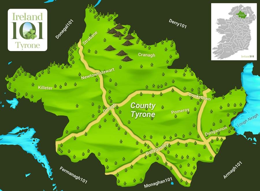 Counties Of Ireland Tyrone Ireland