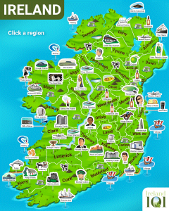 Map Of Ireland Gaeilge.Irish Language Ireland