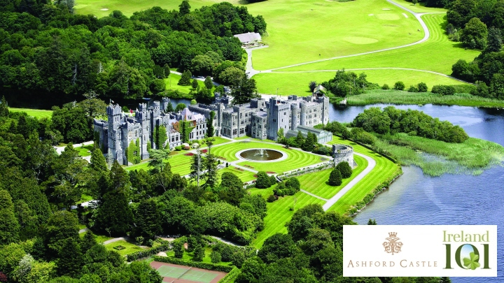Ashford Castle in partnership with Ireland 101