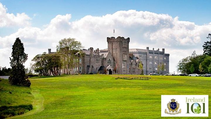Kilronan Castle in partnership with Ireland 101