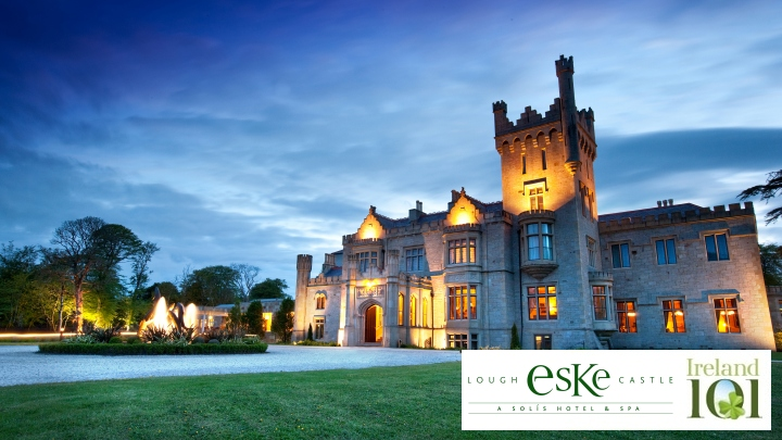 Lough Eske Castle in partnership with Ireland 101