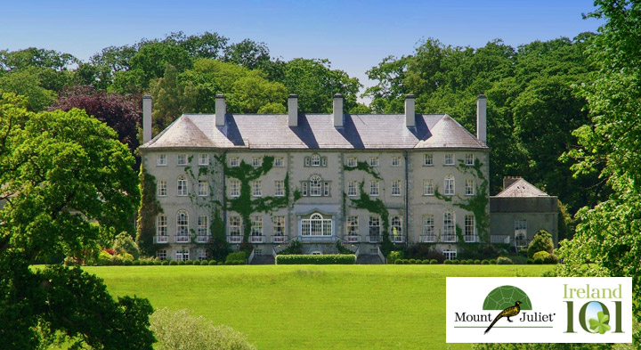 Mount Juliet in partnership with Ireland 101
