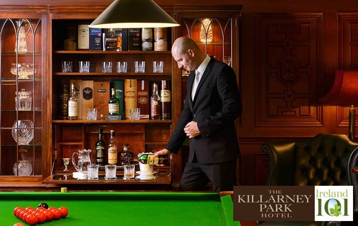 The Killarney Park Hotel in partnership with Ireland 101