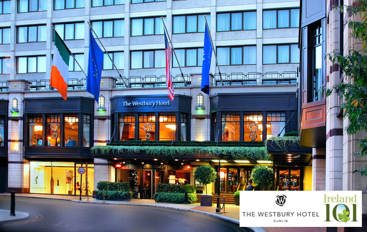 The Westbury Hotel in partnership with Ireland 101