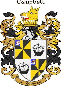 Mccampbell family crest