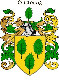 CLERY family crest