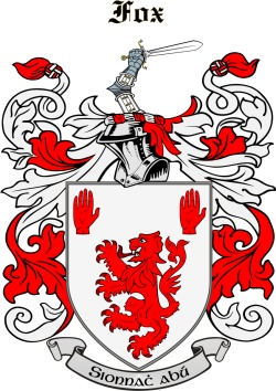 FOXE family crest