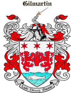 GILMARTIN family crest