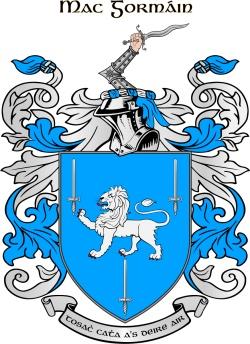 GORMAN family crest