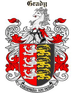 GRADY family crest