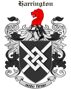 HARRINGTON family crest