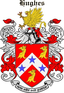 Hows family crest