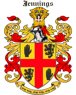 JENNINGS family crest