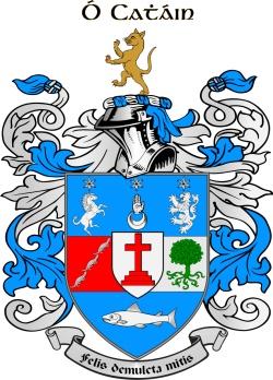 KEEN family crest