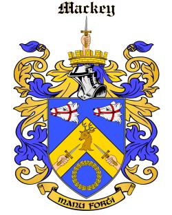 MACKEY family crest