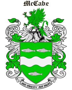 MCCABE family crest
