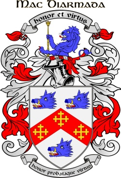 MCDERMOT family crest