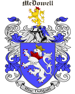 MCDOWELL family crest