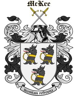 MCKEE family crest