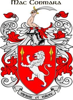 MACNAMARA family crest