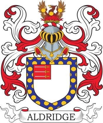 ALDRIDGE family crest