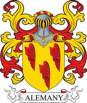 ALEMANY family crest