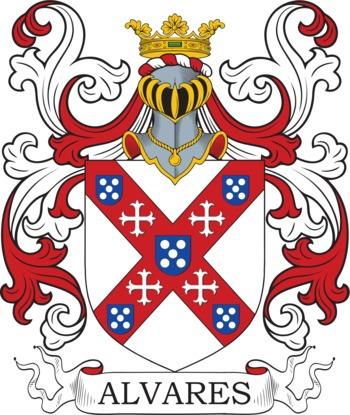 ALVAREZ family crest