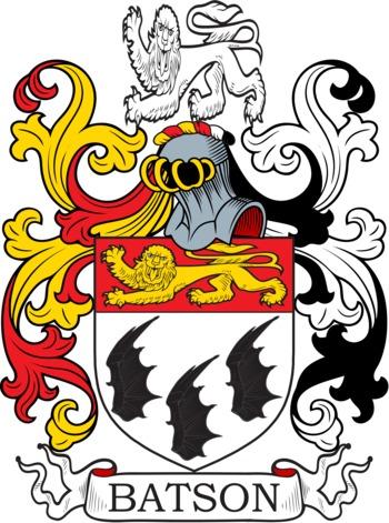 BATSON family crest