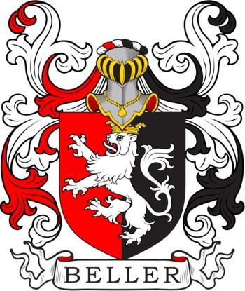 BELLER family crest