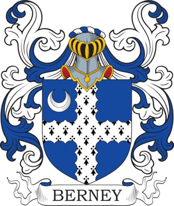 Berney family crest
