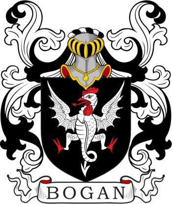 BOGAN family crest